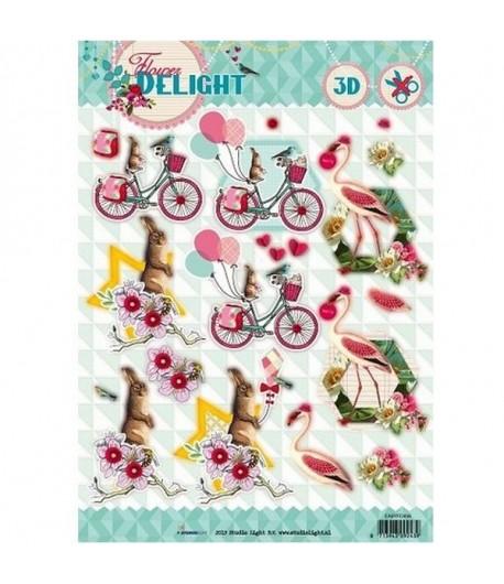 FEUILLE 3D FLOWER DELIGHT 1530065
