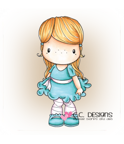 TAMPON POOFY DRESS HEIDI - CC DESIGN