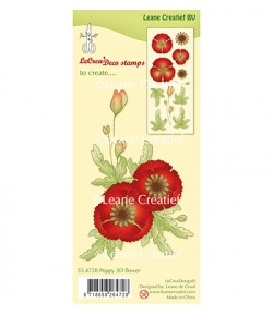 TAMPONS COQUELICOT 3D