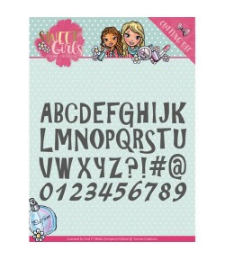 DIE SWEET GIRLS ALPHABET