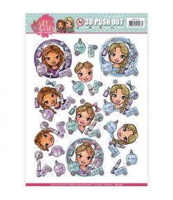 FEUILLE 3D SWEET GIRLS SB10224