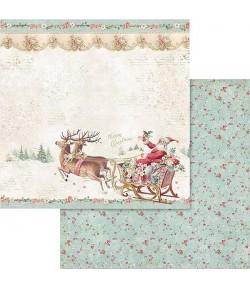 PAPIER PINK CHRISTMAS 30 X 30 CM - SBB578