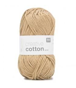 COTON ARAN GRIS MASTIC (51)