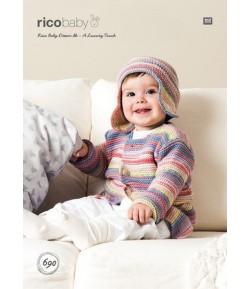 FICHE TRICOT  RICO BABY DREAM - 690