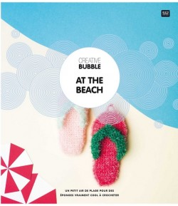 "LIVRET ""AT THE BEACH"" CREATIVE BUBBLE"