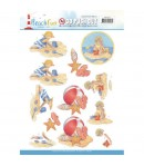 FEUILLE 3D BEACH FUN 10270