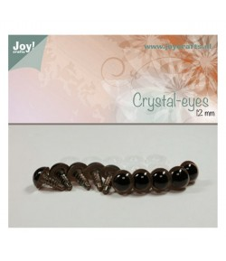 10 YEUX CRISTAL 12MM