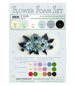 MOUSSE A4 - FOAM FLOWER - 10
