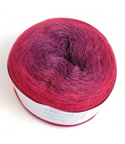 LAINE CREATIVE WOOL DÉGRADÉ ROUGE (009)