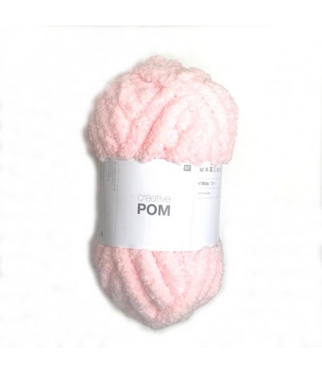 LAINE CREATIVE WOOL POM ROSE (003)