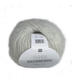 LAINE DAIYAMONDO BLANC CASSÉ (001)