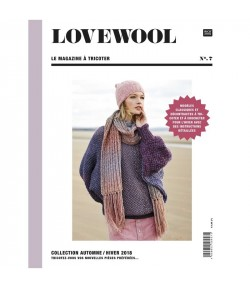 LIVRE TRICOT LOVEWOOL N°7 AUTOMNE HIVER