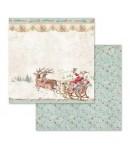 BLOC 10 FEUILLES PINK CHRISTMAS 30.5 X 30.5 CM