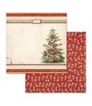BLOC 10 FEUILLES CHRISTMAS VINTAGE 30.5 X 30.5 CM