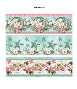 DECOS FILMS RETRACTABLES 10 CM - SHABBY CHIC WINTER 40
