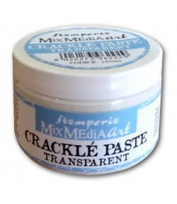 PATE CRAQUELE MONOCOMPOSANT TRANSPARENT 150ML