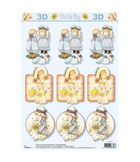 FEUILLE 3D SARAH KAY SLSK04