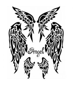 POCHOIR ANGEL 20X25 EP 0.25 KSTD036