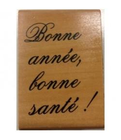 TAMPON BONNE ANNEE BONNE SANTE