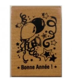 TAMPON BOIS BONNE ANNEE