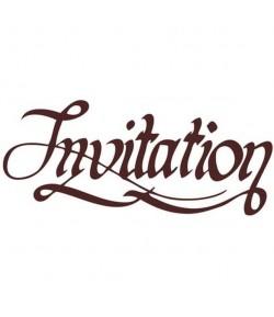 TAMPON BOIS INVITATION