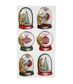 CHARMS CHRISTMAS PERE NOEL ET RENNE