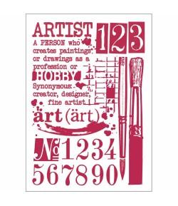 POCHOIR ART 21X29.7 KSG423