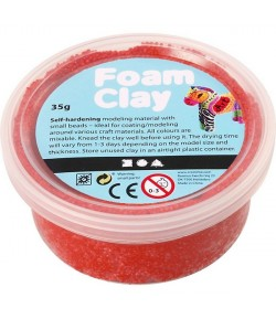 PATE A MODELER FOAM CLAY ROUGE  - 35 G