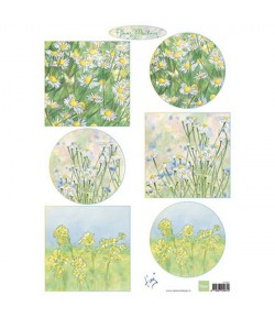 FEUILLE DECOUPAGE MARIANNE DESIGN IT601