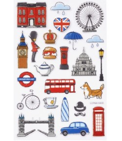 STICKERS ENGLAND GLOSSY