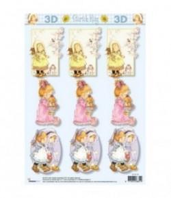 FEUILLE 3D SARAH KAY SLSK02