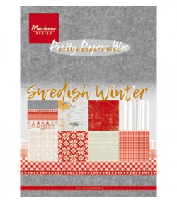 BLOC SWEDISH WINTER 15 X 21 CM - MARIANNE DESIGN