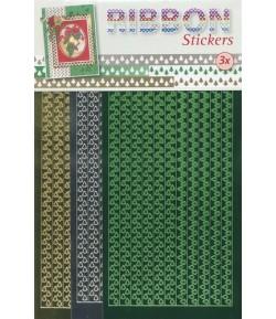 STICKERS RUBANS X 3 - SAPINS