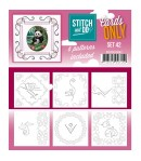6 CARTES A BRODER STITCH AND DO - SET 42
