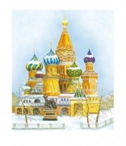IMAGE 3D RUSSIE 28.5X23 DF3D006B STAMPERIA