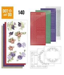 KIT 3D DOT AND DO FLEURS  - 140