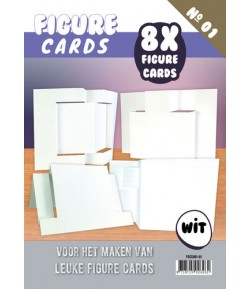 LIVRET GABARITS CARTES - N°1 - BLANC