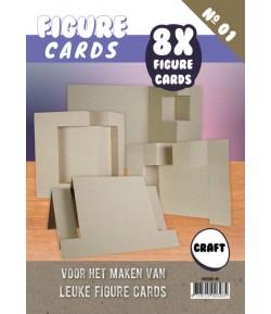 LIVRET GABARITS CARTES - N°1 - KRAFT