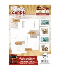 LIVRET GABARITS CARTES - N°7 - BLANC