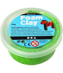 PATE A MODELER FOAM CLAY VERT SINTILLANT- 35 G