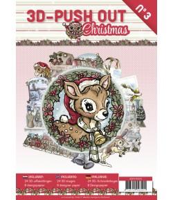 BLOC 3D A4 + PAPIERS -  CHRISTMAS N°3