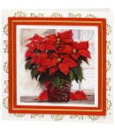 FEUILLE 3D POINSETTIAS