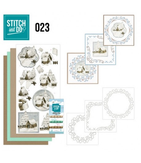 KIT 3D A BRODER PAYSAGES - STDO023