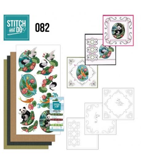 KIT 3D A BRODER ORIENTAL - STDO082