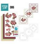 KIT 3D A BRODER FLEURS ROSES - STDO086