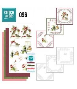 KIT 3D A BRODER OISEAUX - STDO096