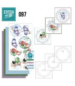 KIT 3D A BRODER HIVER - STDO097