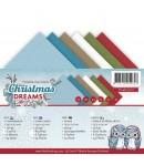 24 CARTES 13.5X27 CHRISTMAS DREAMS
