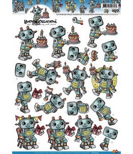 FEUILLE 3D ROBOTS