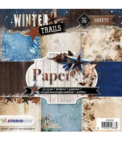 BLOC 15x15  WINTER TRAILS - PPWT98